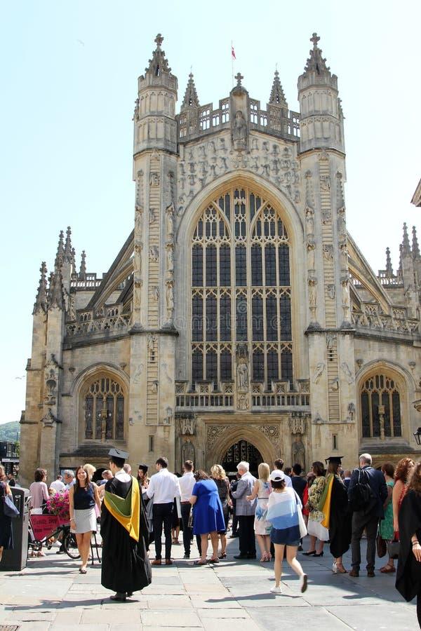 Bath Abbey, England royalty free stock image