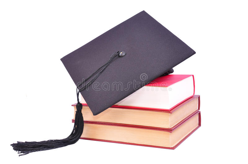 Student hat royalty free stock photo