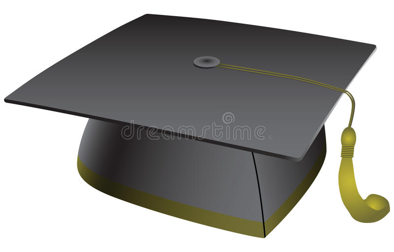 Download Student hat tasse stock vector. Image of image, ceremony - 32250222