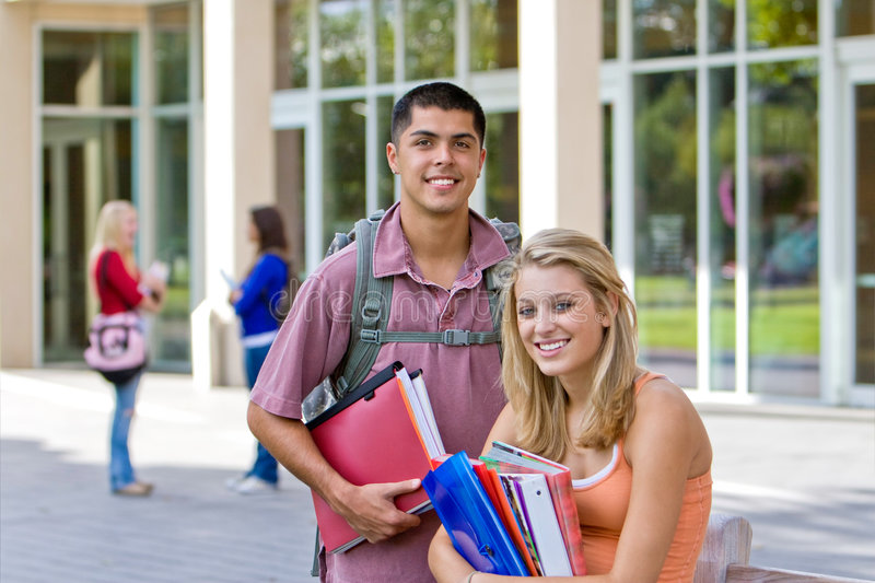 Download Student Holding Books Royalty Free Stock Images - Image: 7428319