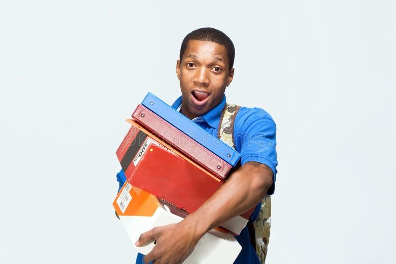 Student Holding Notebooks - Horizontal stock photos