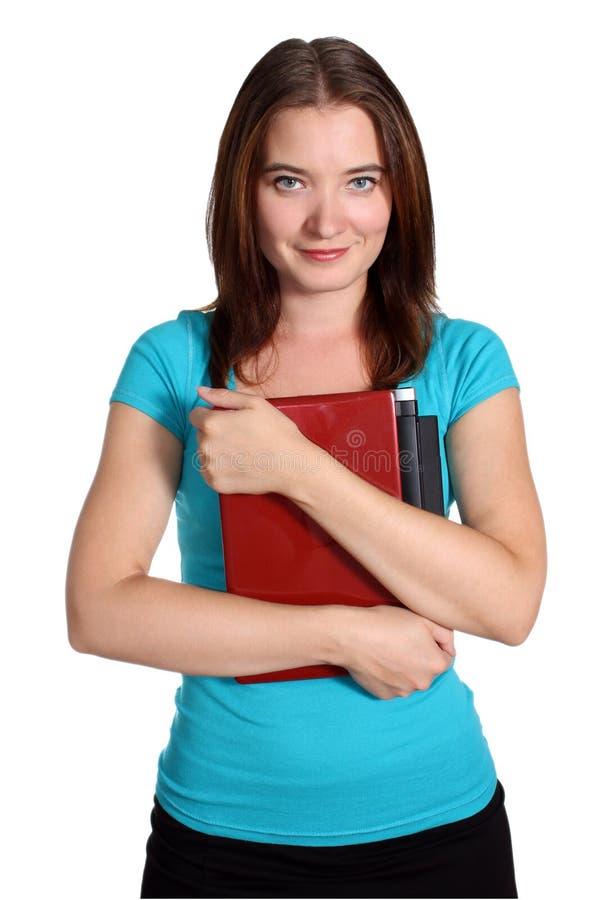 Student klaar voor school stock afbeelding