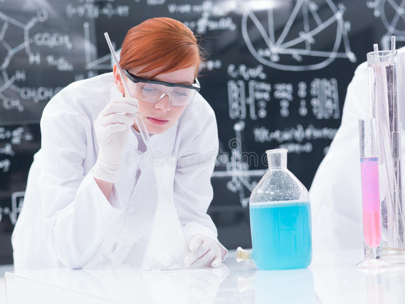 Download Student Lab Experiment Royalty Free Stock Image - Image: 31258696