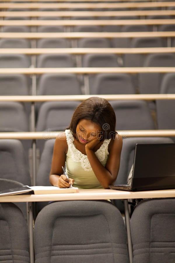 Student lecture room royalty free stock images