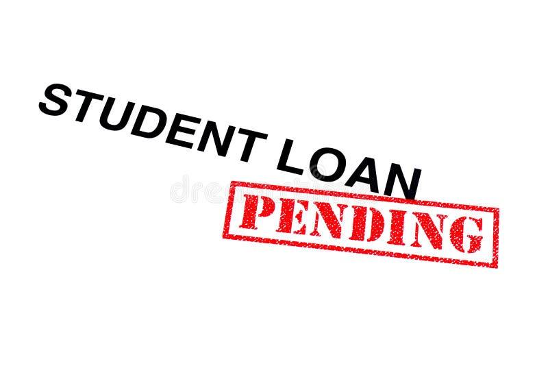 Student Loan Pending royaltyfria foton