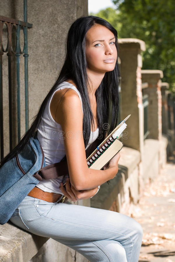 Download Student Outdoors. Royalty Free Stock Photo - Image: 26306115
