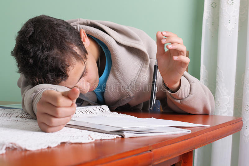 Download Student And Pencil Stock Image - Image: 16438301