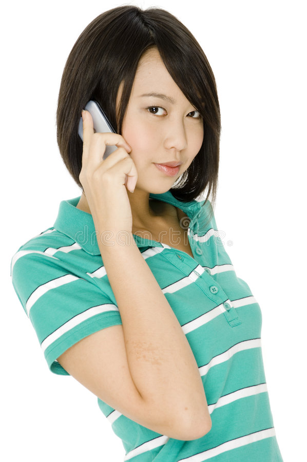 Download Student On Phone Stock Images - Image: 1723654