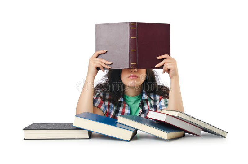 Download Student Preparing For  Exams Stock Photos - Image: 26841943