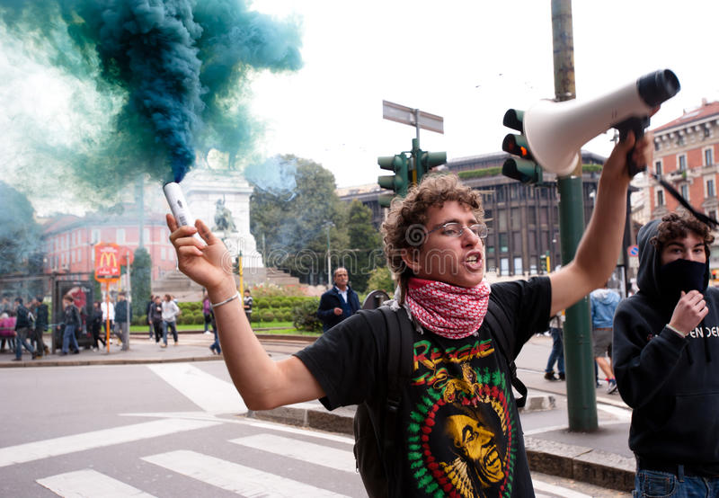 Download Student Protesting Editorial Photography - Image: 16398532