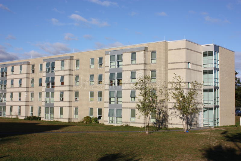 Download Student resident hall stock photo. Image of umass, build - 17604696