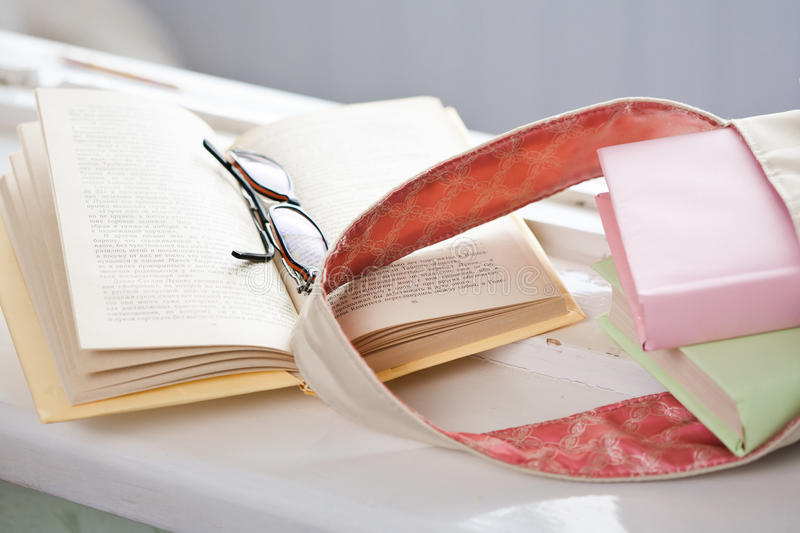 Download Student's accessories stock image. Image of sill, glasses - 24899983