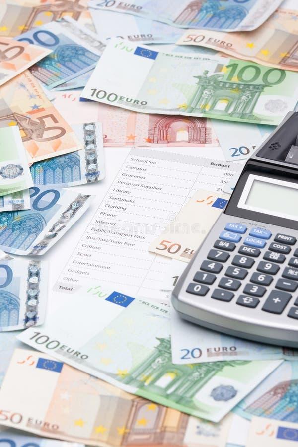 Download Student's budget stock image. Image of pocket, european - 26114141