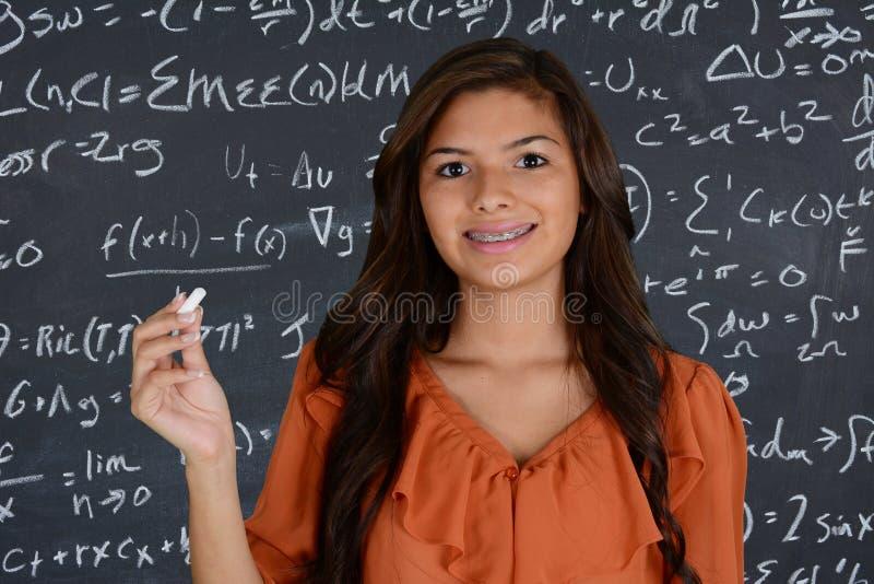 Student At School arkivfoton