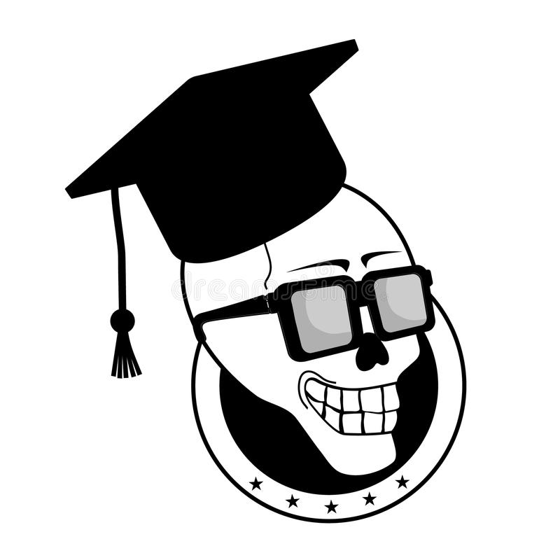 Download Student skull stock vector. Image of corpse, head, dead - 21588256