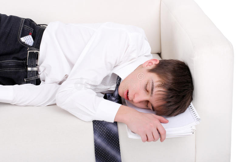 Student Sleeping Stock Images