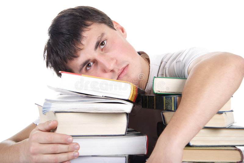 Download Student sorrow stock image. Image of intellect, graduate - 2023807