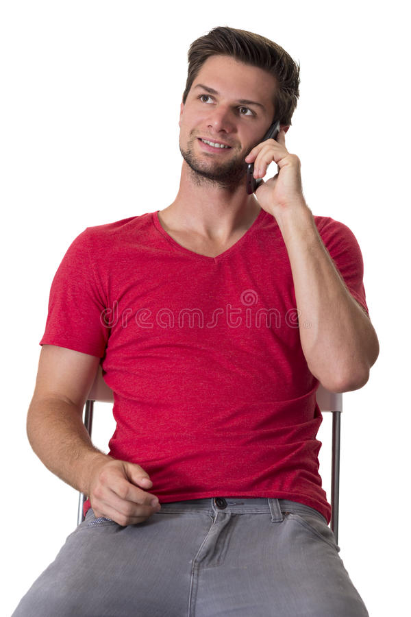 Download Student Talking On Phone Stock Images - Image: 26806184