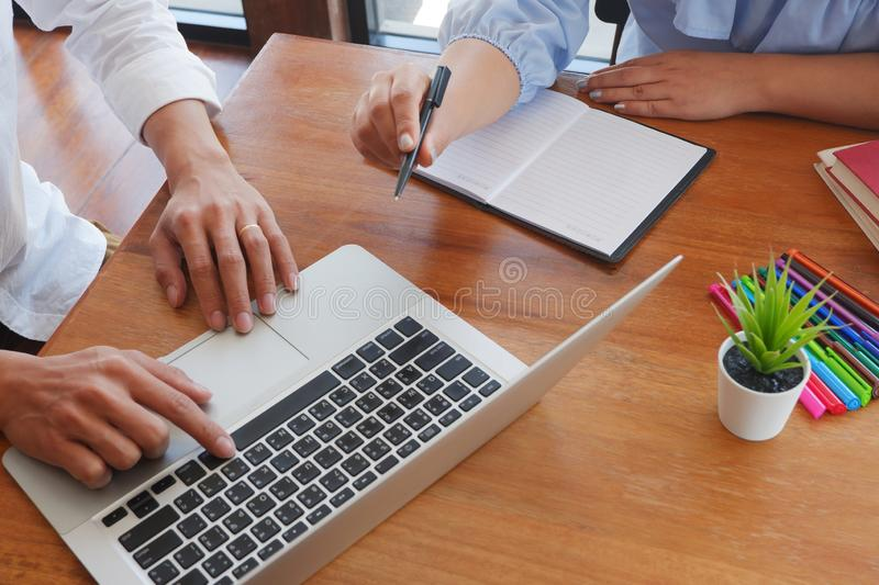 Student tutoring teaching learning education concept royalty free stock photo