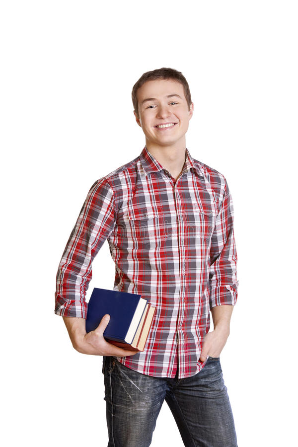 Free Student With Books Stock Photo - 18947320