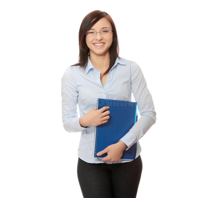 Student woman royalty free stock image