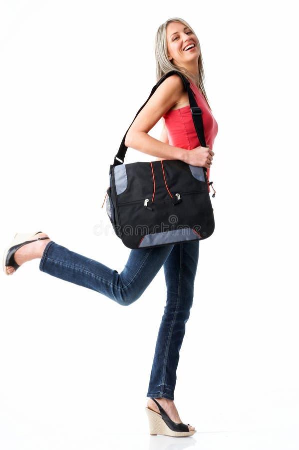 Student woman stock image