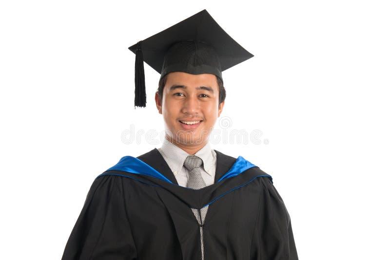 Studenta uniwersytetu skalowania portret zdjęcia stock