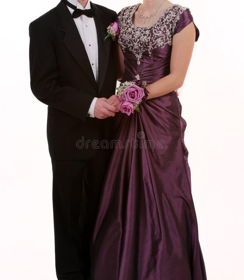 studentbalbröllop royaltyfri bild