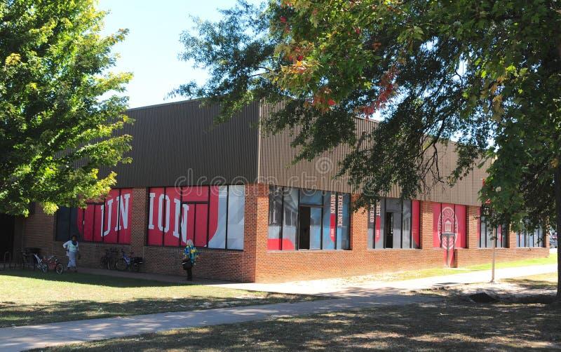 Studente Center all'università del sindacato a Jackson, Tennessee fotografie stock libere da diritti
