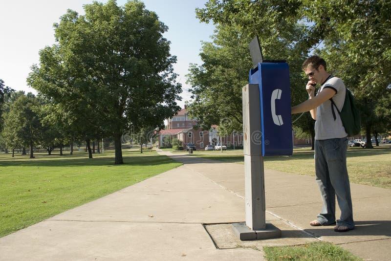 Studente di college immagini stock libere da diritti