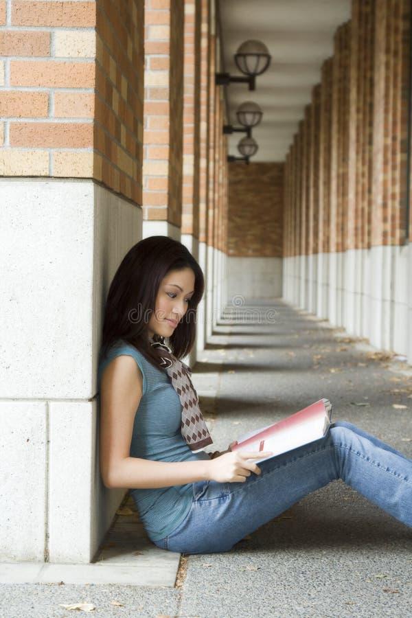 Studente di college immagine stock libera da diritti