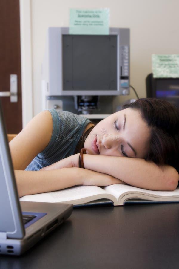 Studente di college fotografie stock