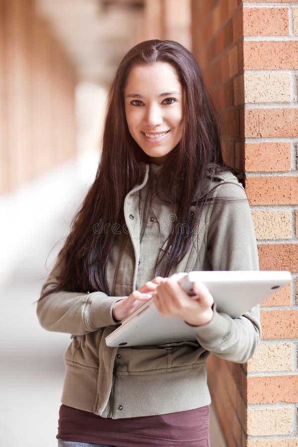 Studente di college etnico immagine stock libera da diritti