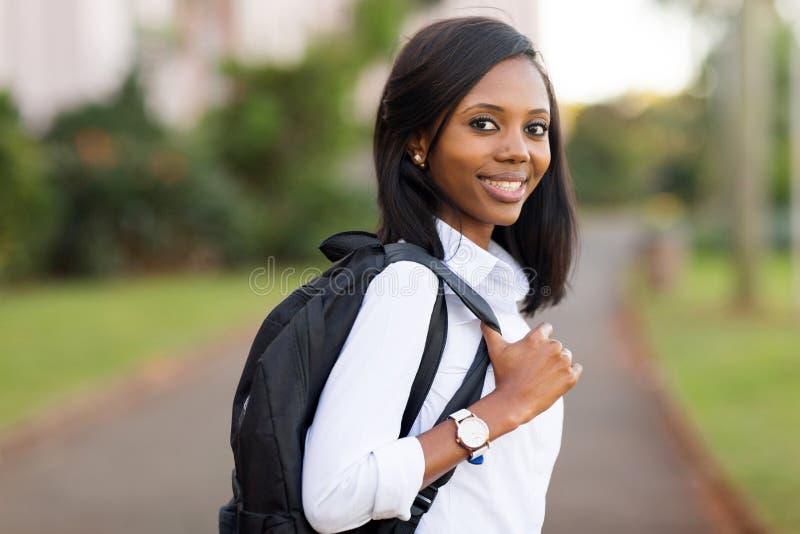 Studente di college femminile fotografia stock libera da diritti