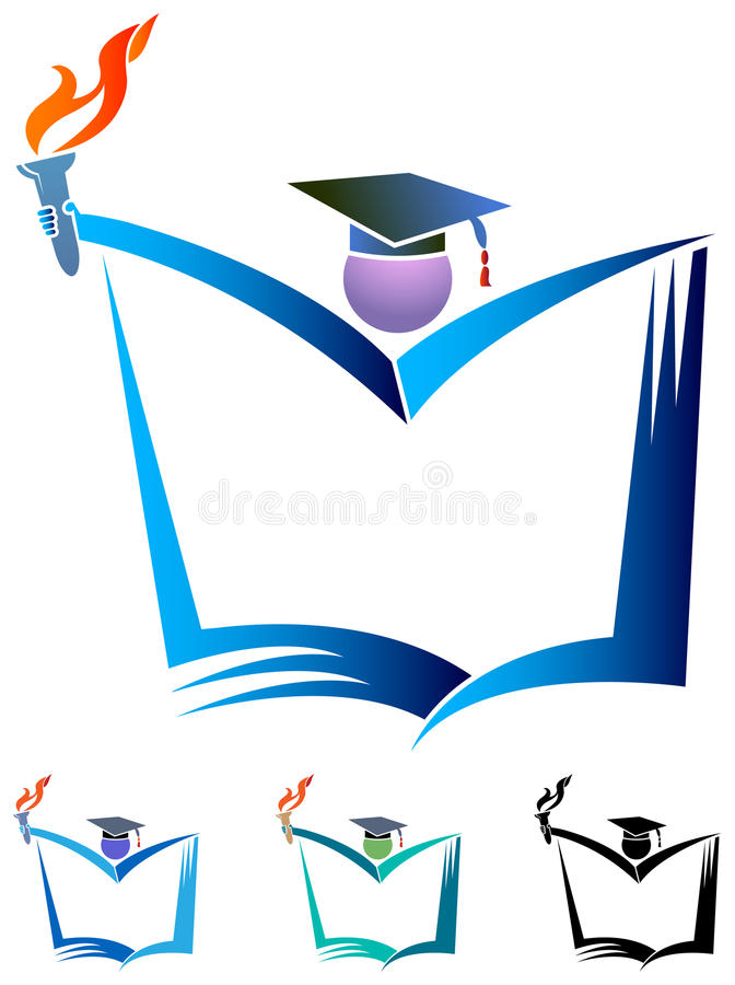 Studente di successo royalty illustrazione gratis