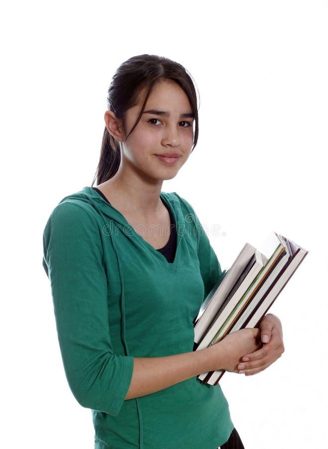 Studente universitario femminile immagine stock