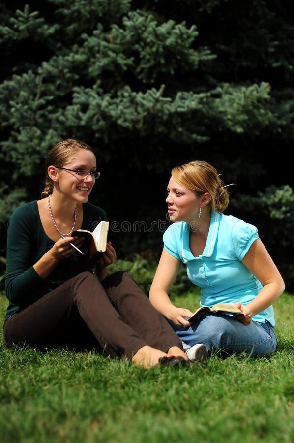 Studenten-Ablesen stockfotos