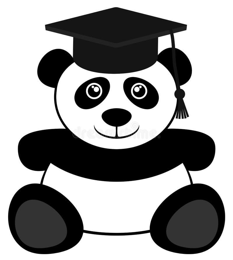 Studentenbär lizenzfreie abbildung
