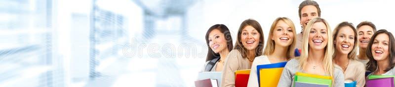 Studentengroep stock afbeelding