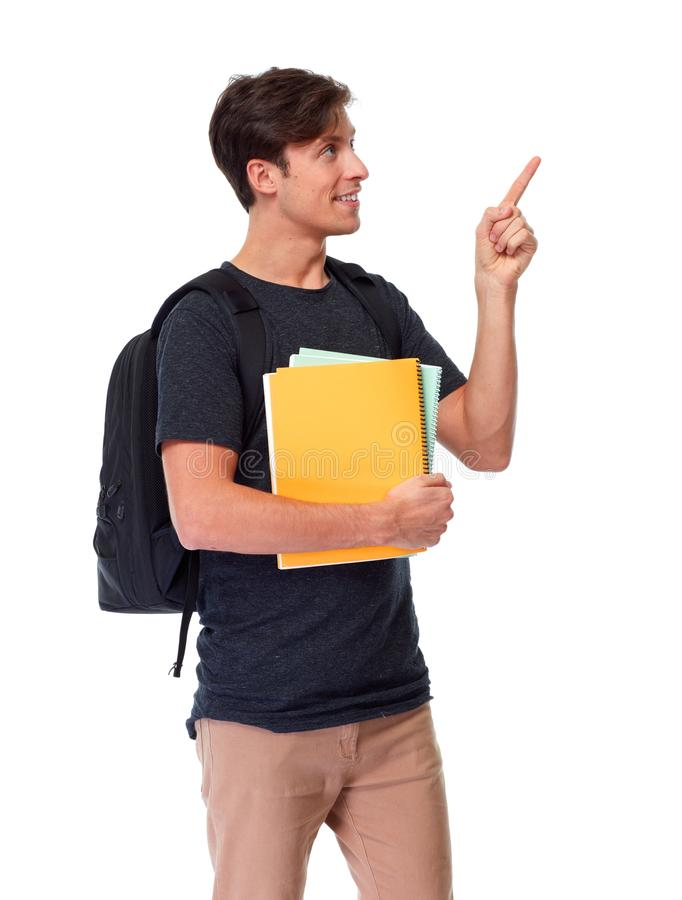 Studentenmann stockbilder