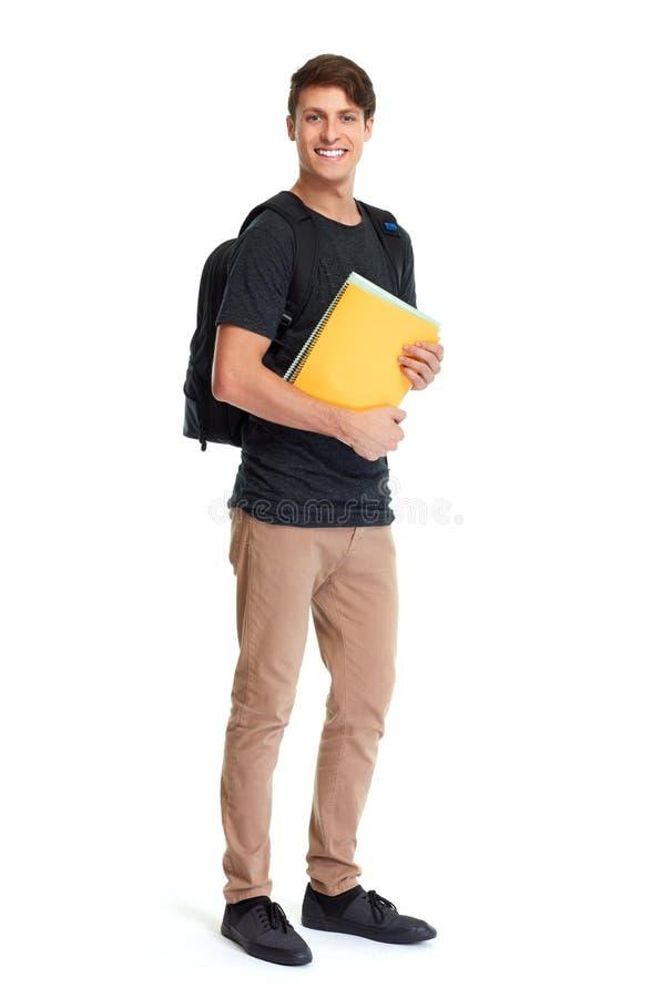 Studentenmann stockfoto