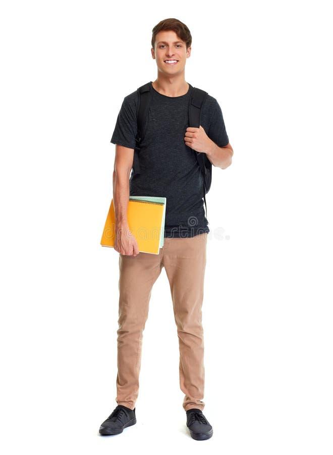 Studentenmann lizenzfreie stockfotos