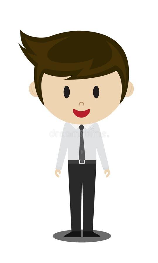 Studentenmens vector illustratie