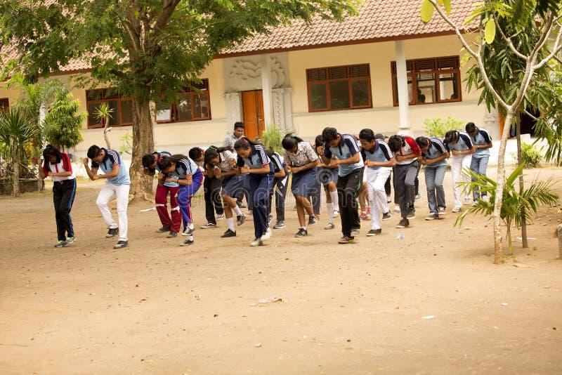 Download Studenter Firar Självständighetsdagen, In - Nusa Penida, Indonesien Redaktionell Bild - Bild av indones, militär: 76700651