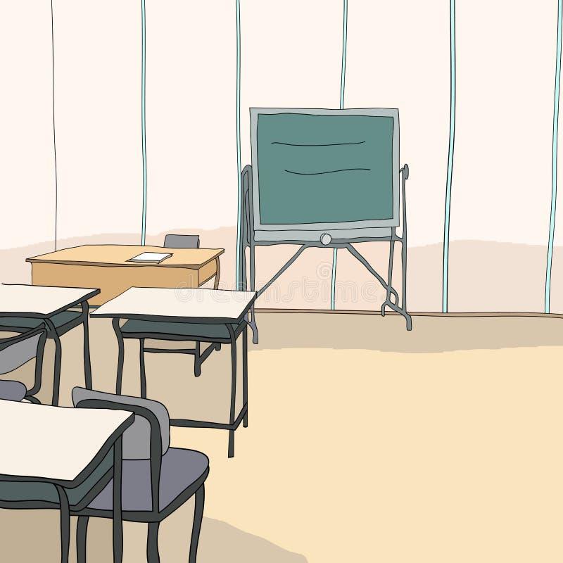 Studenter och utbildning stock illustrationer