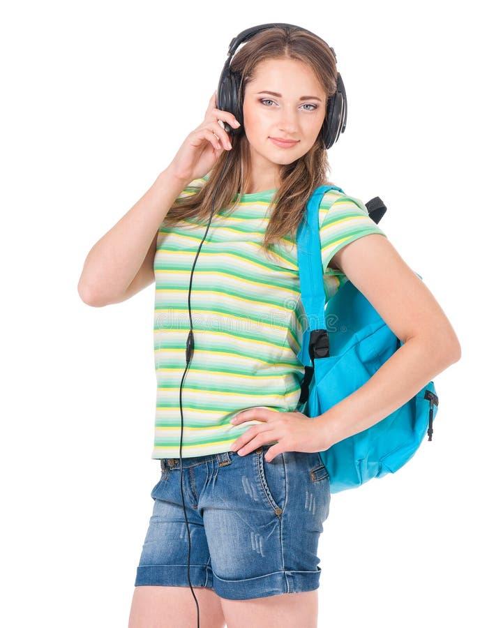 Studentessa teenager immagine stock libera da diritti