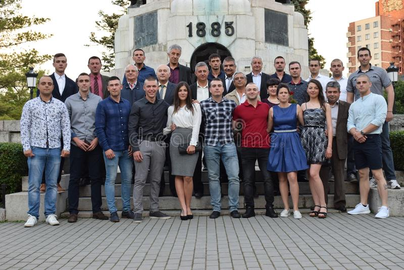 Studenti bulgari fotografie stock libere da diritti