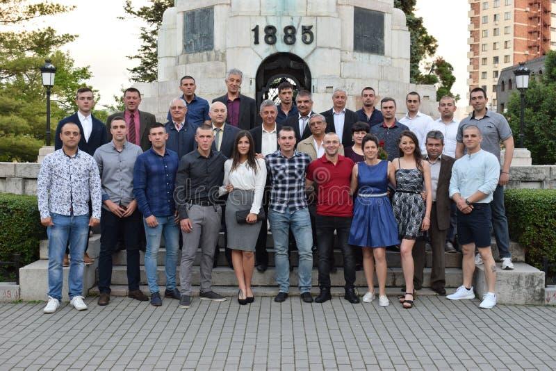 Studenti bulgari fotografia stock