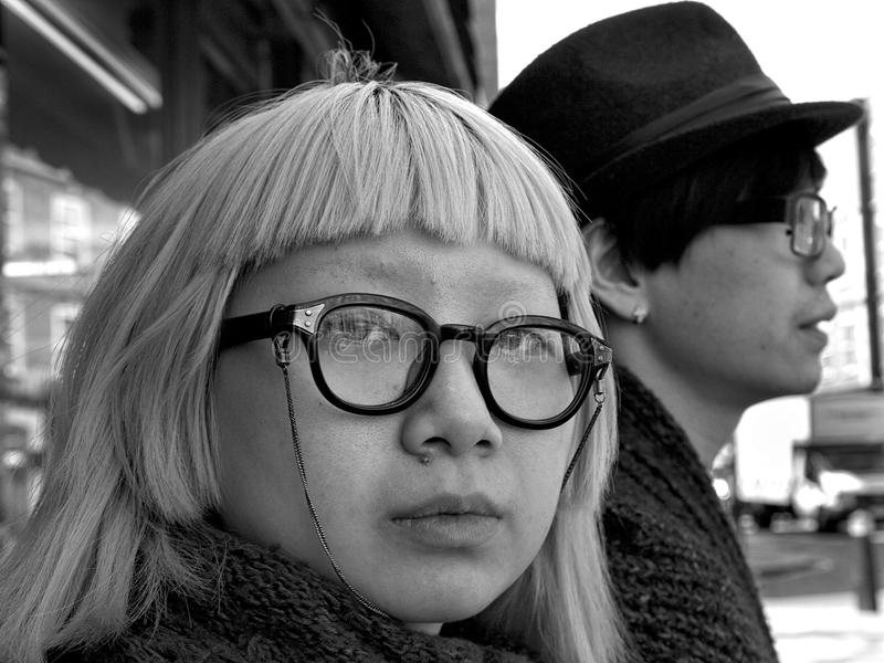 Studenti giapponesi fotografie stock libere da diritti