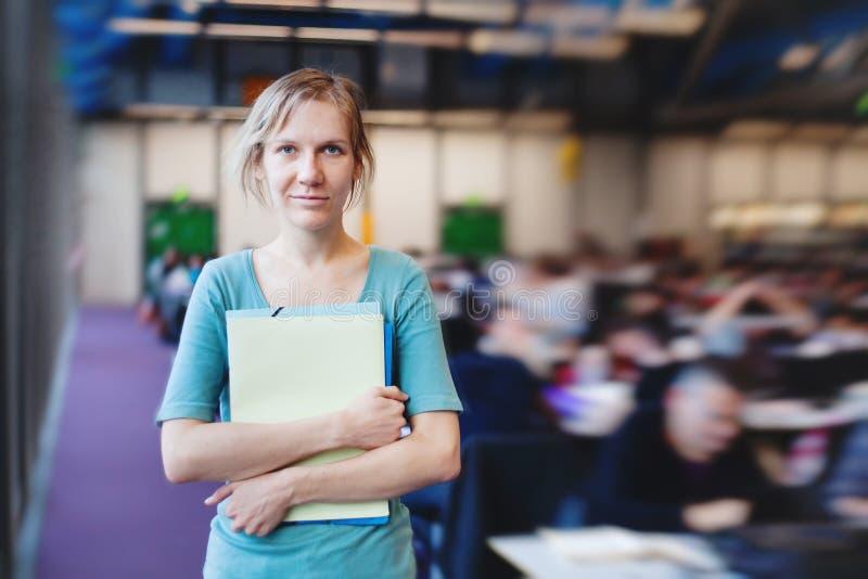 Studentin stockbilder